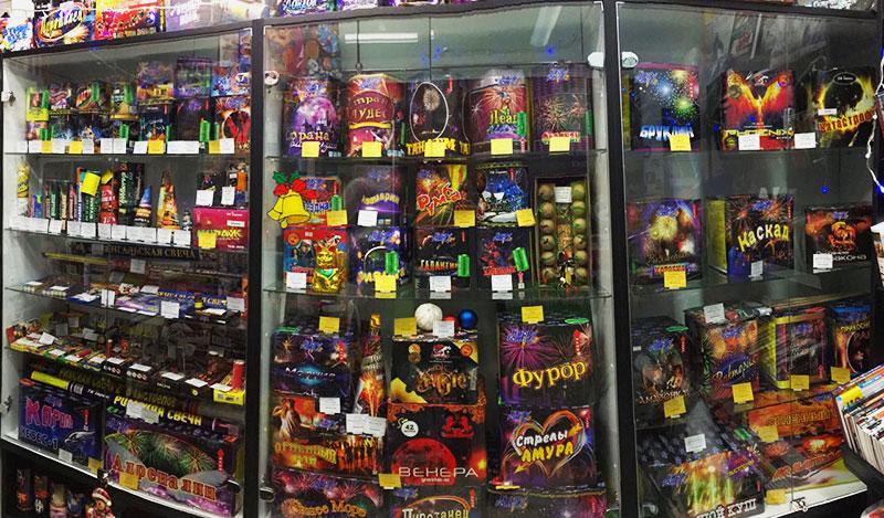 Фейерверки и салюты в магазине пиротехники Firedragon